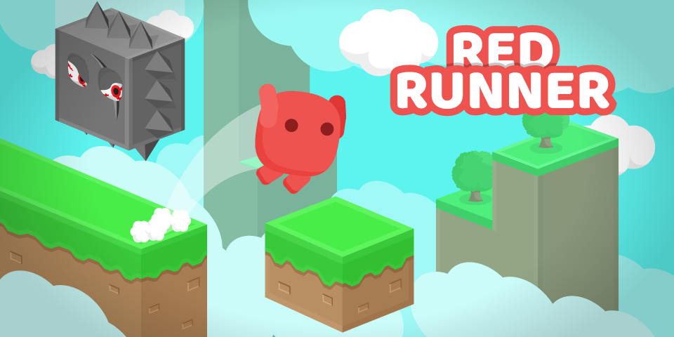 Red Runner open source Unity game