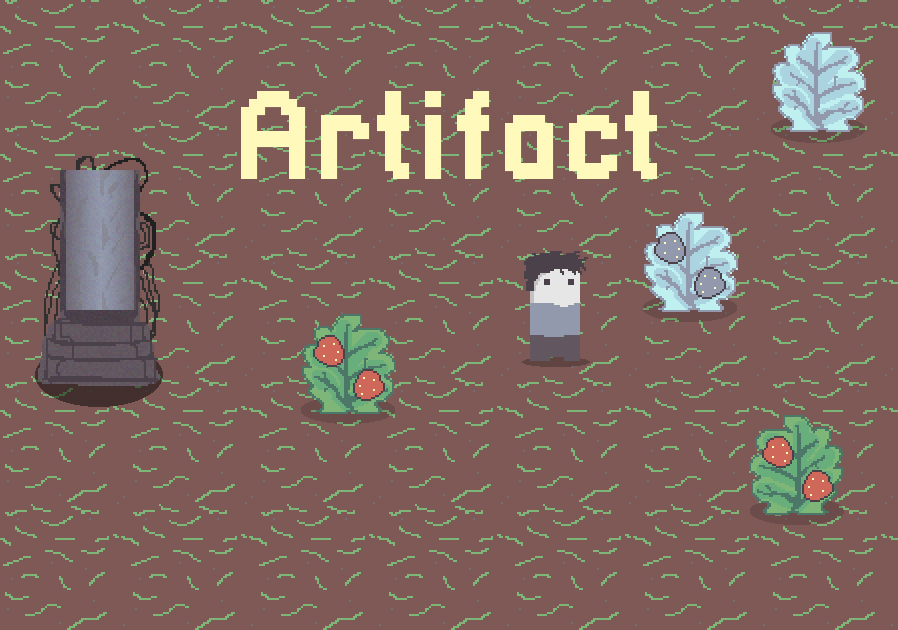 Artifact 2D open source Unity game