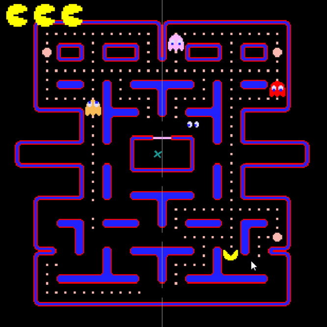 Pacman clone in Unity and C#