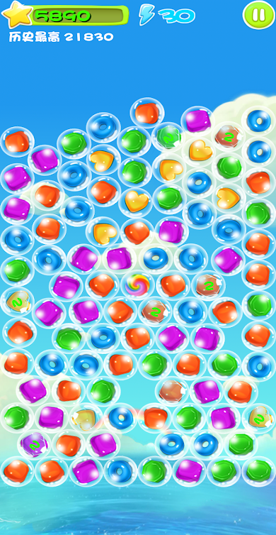 Everyday Cute Bubble - Candy Crush open source clone built with Unity